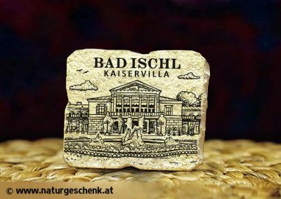 Bad Ischl Kaiservilla Steinmagnet
