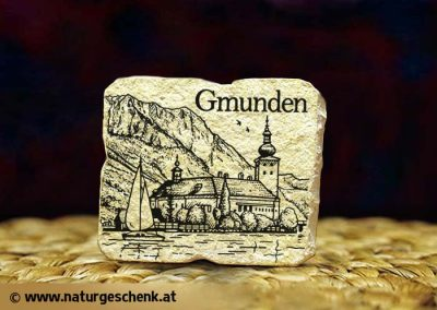 Gmunden Steinmagnet