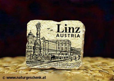 Linz Austria Stein Magnet
