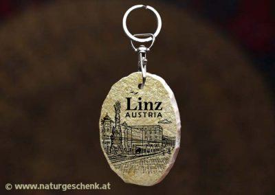 Linz Austria Stein Schlüsselanhänger