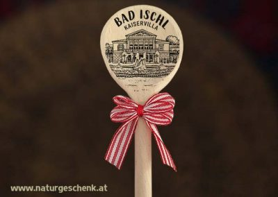 Bad Ischl Kaiservilla Holzlöffel Magnet