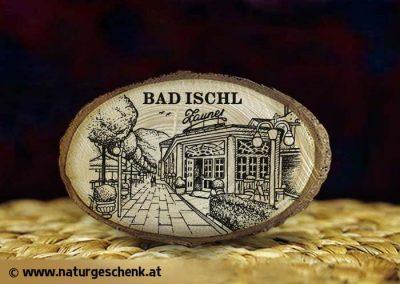 Bad Ischl Zauner Holzmagnet