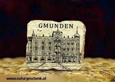 Gmunden Rathaus Steinmagnet