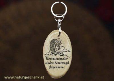 Holz Schlüsselanhänger Gute Fahrt1