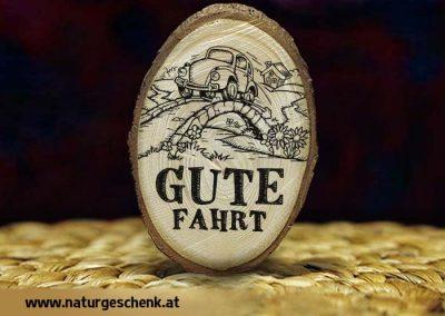 Holzmagnet Gute Fahrt3