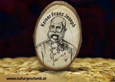 Kaiser Franz Josef Holzmagnet
