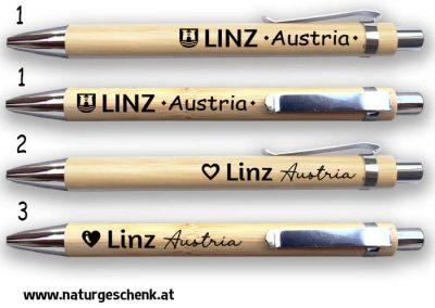 LInz Austria Bambus Kugelschreiber