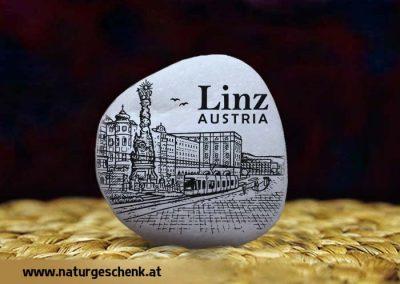 Linz Austria Weißer Dekostein