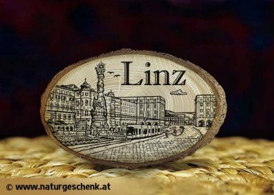 Linz Holzmagnet