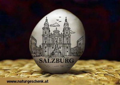 Salzburg Dom Flusskiesel