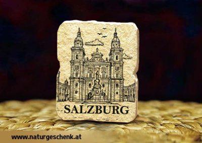 Salzburg Dom Steinmagnet