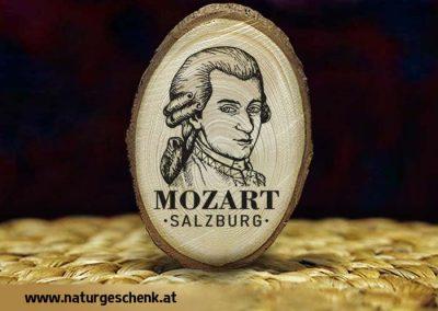 Salzburg Mozart Holzmagnet
