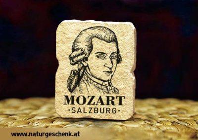 Salzburg Mozart Steinmagnet