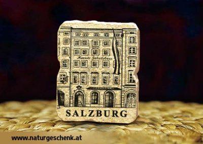 Salzburg Mozarts Geburtshaus Steinmagnet