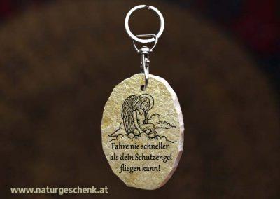 Stein Schlüsselanhänger Gute Fahrt1